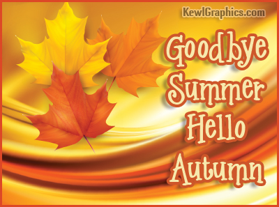 Autumn Leaves Goodbye Summer Hello Autumn Facebook Cover