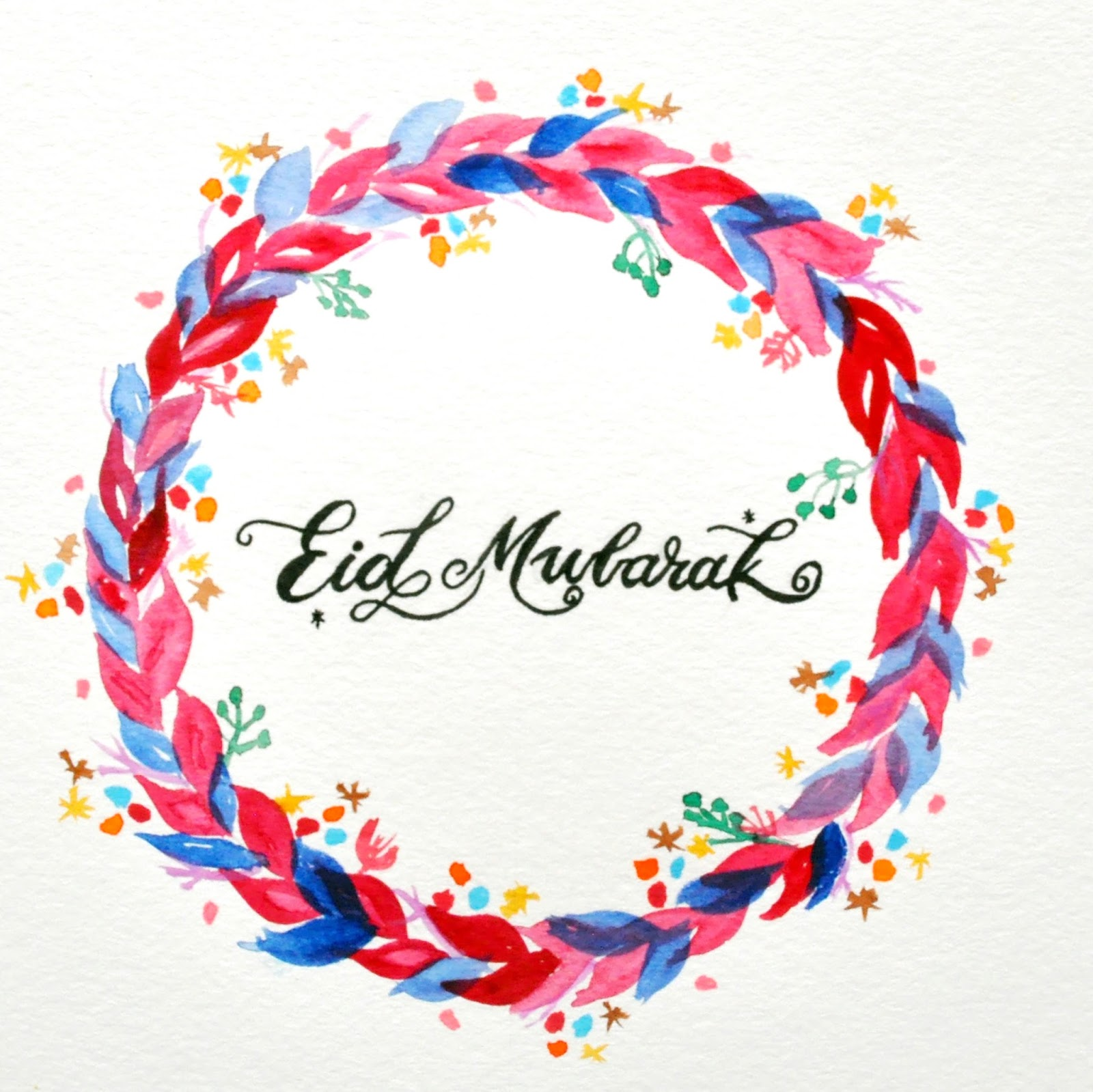 Eid ul Adha Mubarak Colorful Design