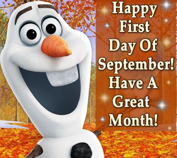 First Day of September Quotes