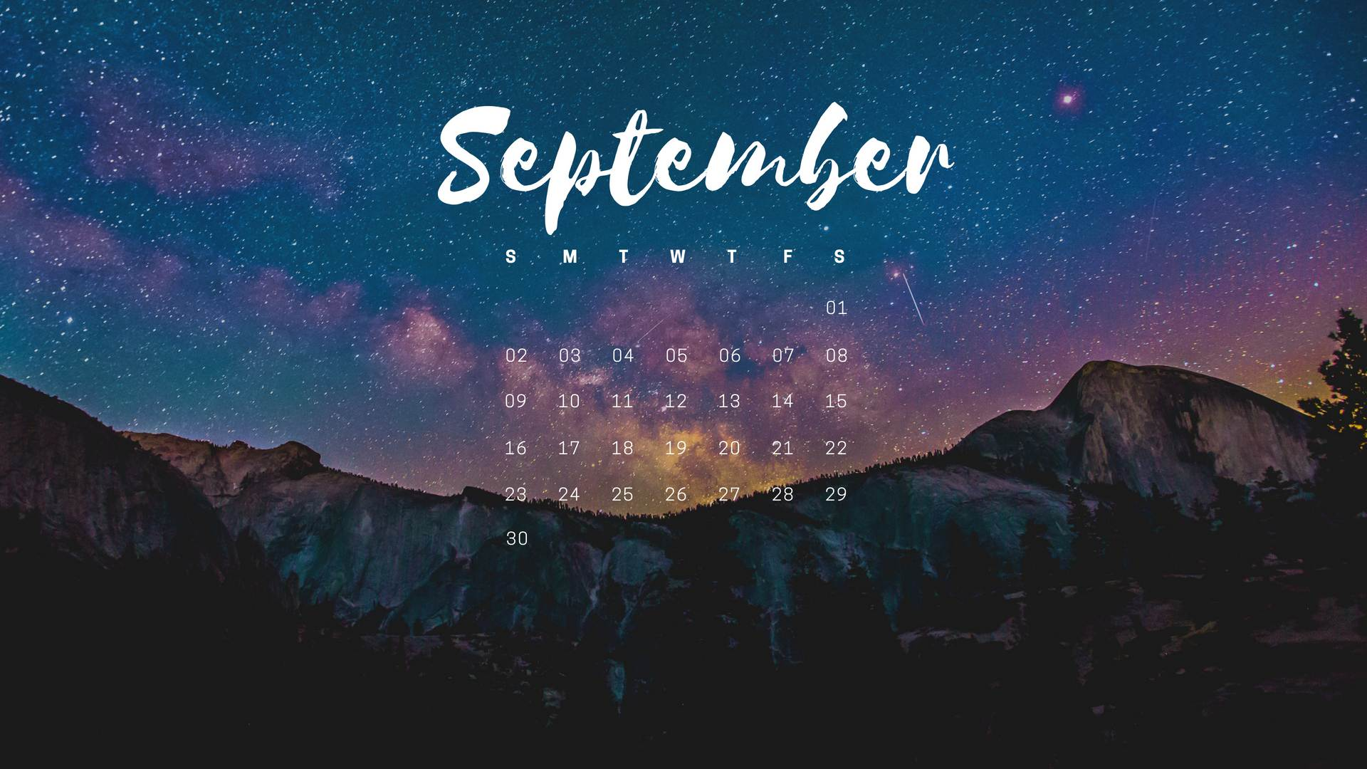 Free September 2018 PC Wallpaper