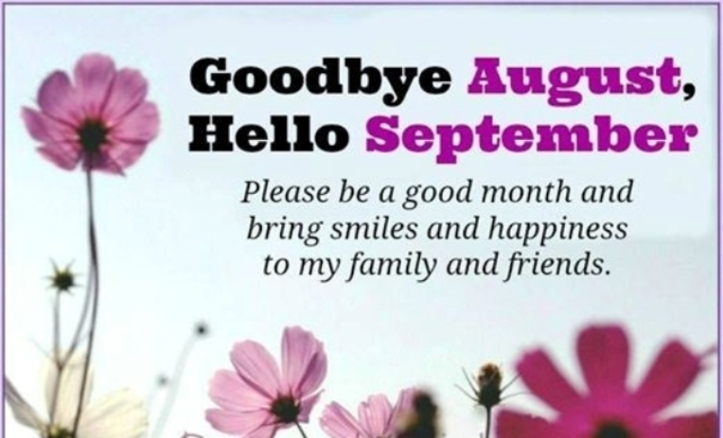 Goodbye August Hello September Tumblr