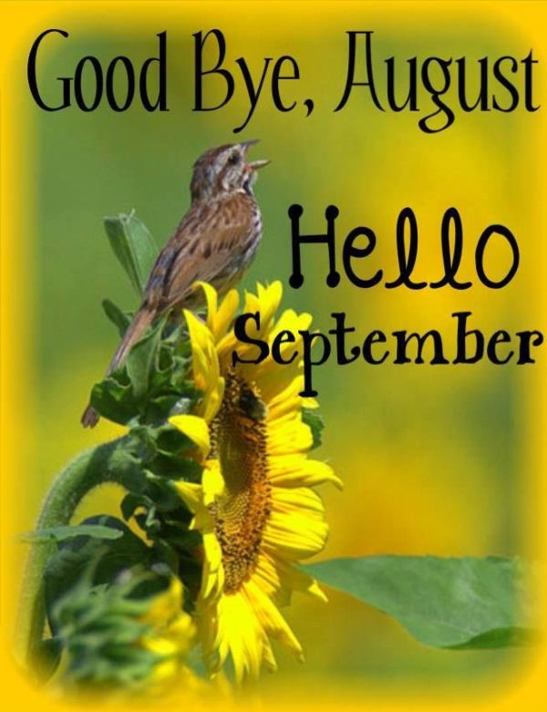 Goodbye August Hello September Wallpapers