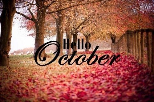 Goodbye September Hello October Photos HD