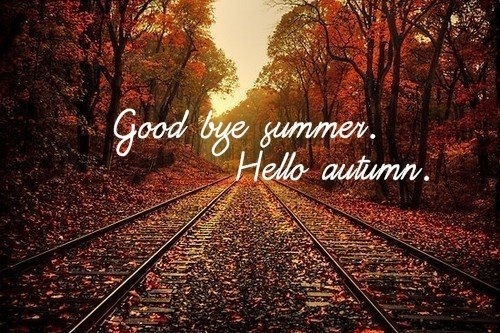 Goodbye Summer Hello Autumn Images