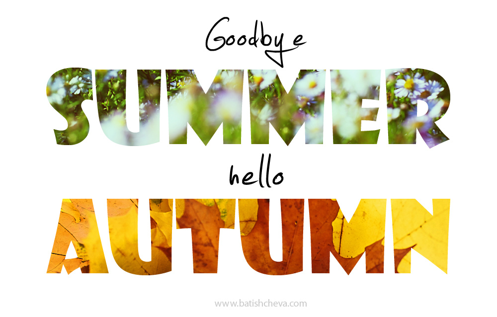 Goodbye Summer Hello Autumn Wallpapers HD