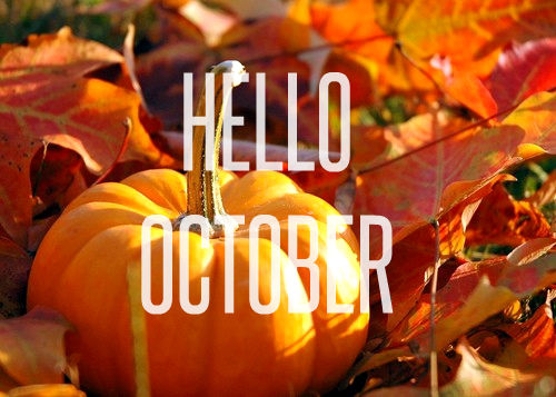 Hello October Images HD