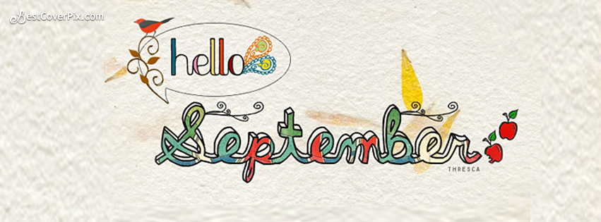 Hello September Facebook Cover