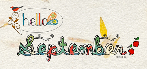 Hello September Greetings Quotes
