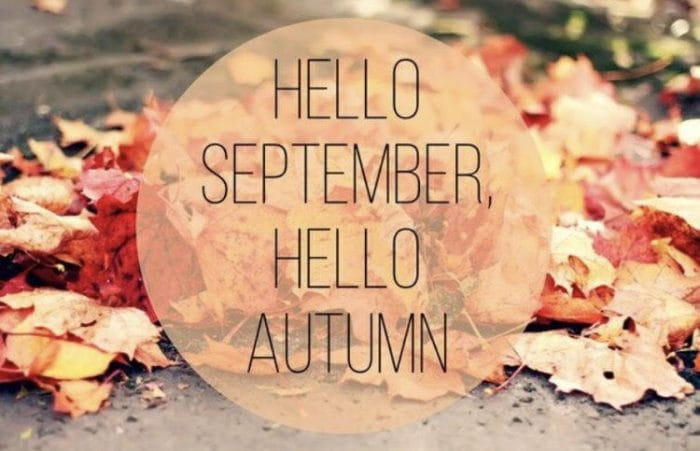 Hello September Hello Autumn Images