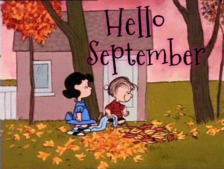 Hello September Snoopy Images