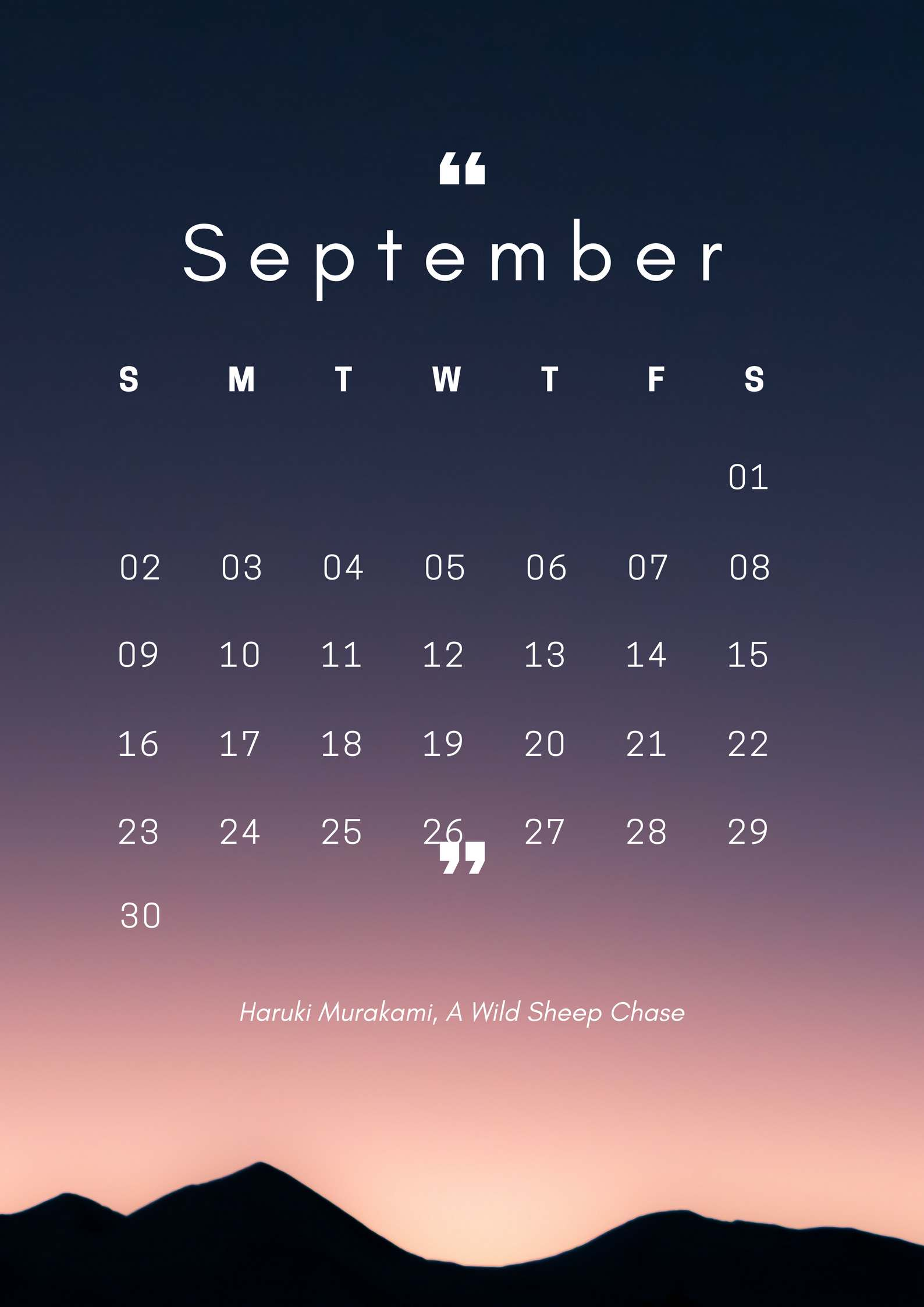Iphone 2018 Hd Calendar Wallpaper