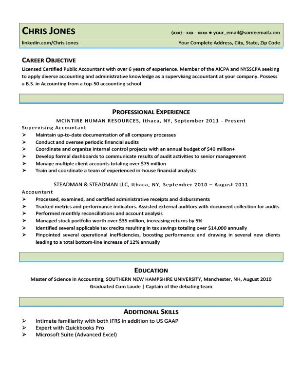 Mantis Green Resume Template Free