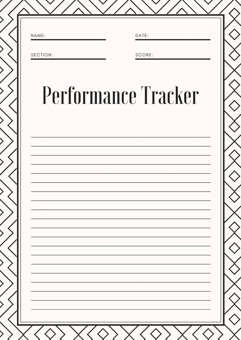 October 2018 Performance Tracker