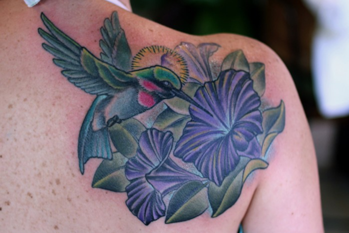 September Birth Flower Morning Glory Tattoos