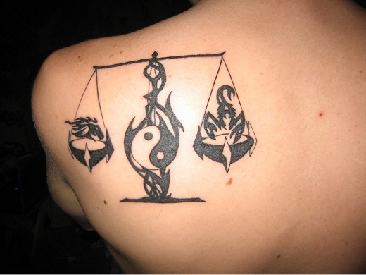 September Birth Sign Tattoo
