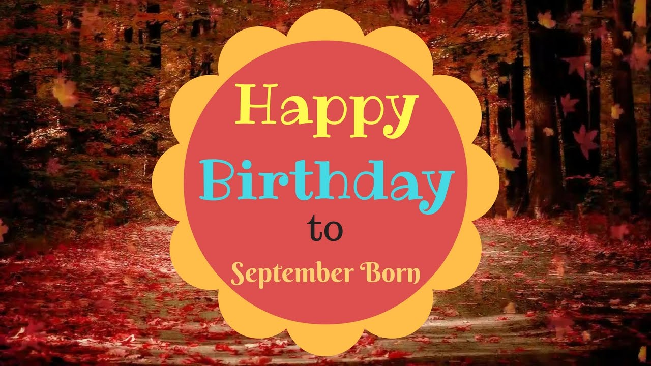 September Birthday Images, Quotes Wallpaper