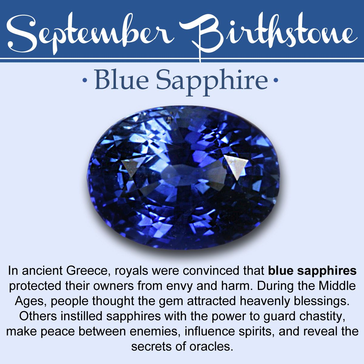 September Birthstone Meaning
