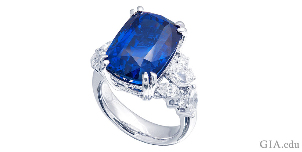September Birthstone Wedding Rings Sapphire