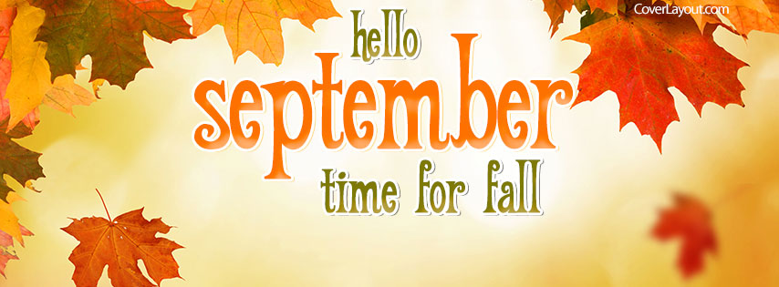 September Facebook Cover Photos