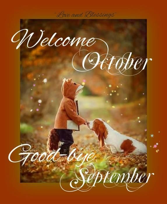 Welcome October Images Free Download