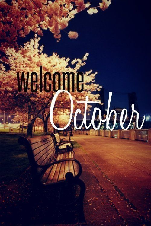 Welcome October Quotes Images
