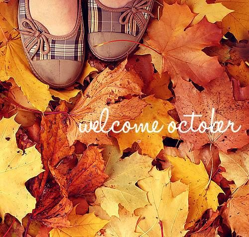 Welcome October Quotes Pictures Photos