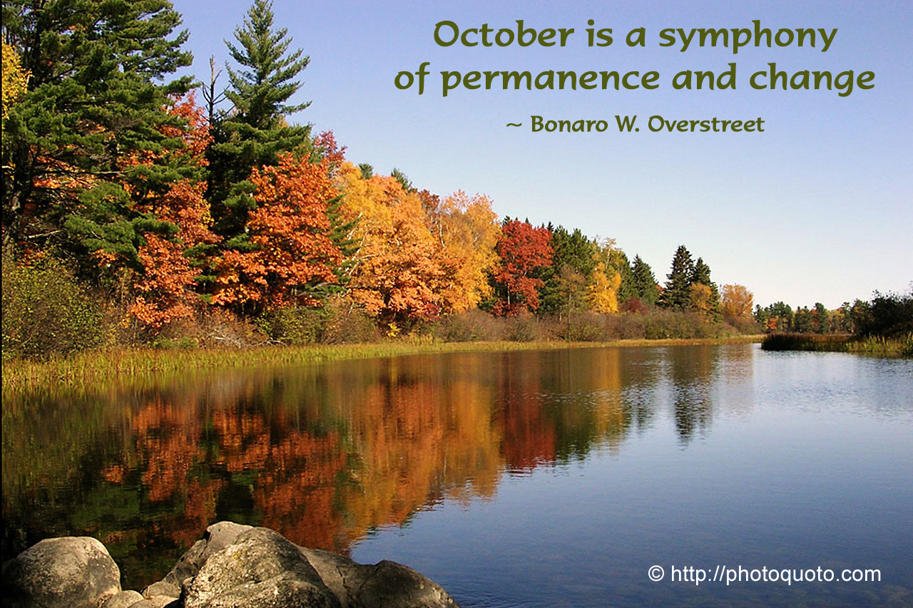 Welcome October Quotes Sayings