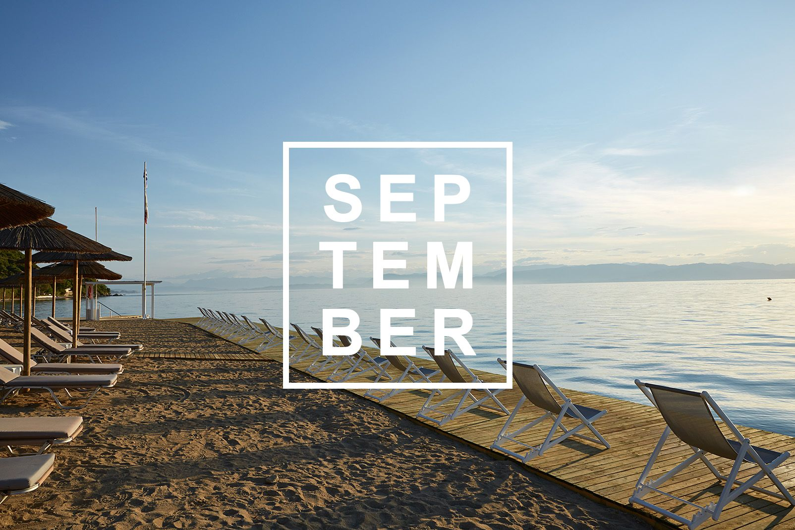Welcome September Beach Images