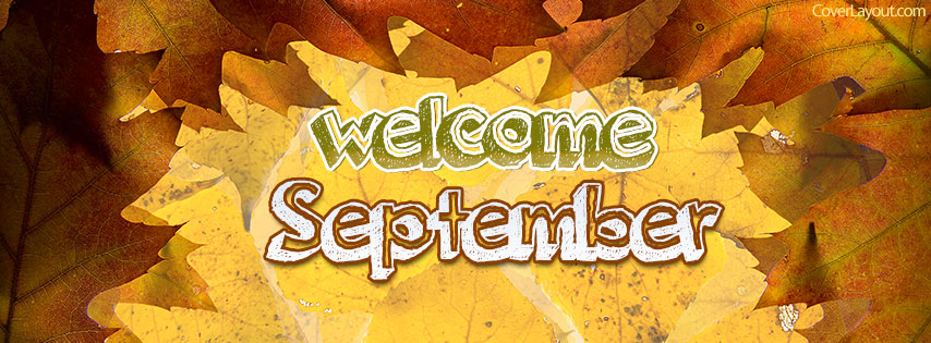 Welcome September Facebook Cover