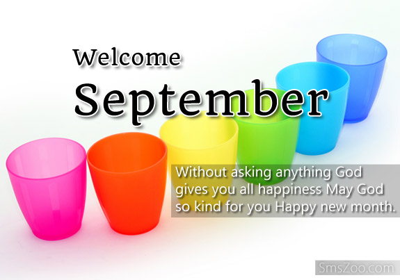Welcome September Images Quotes Wishes