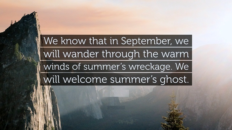 Welcome September Quotes Free