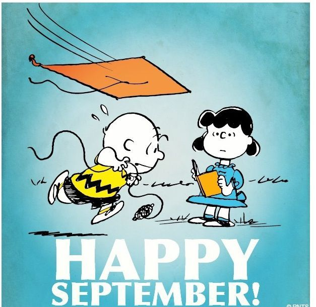Welcome September Snoopy Images