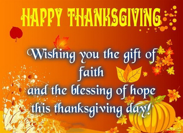 Best Thanksgiving Day Messages Sayings