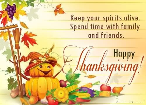Happy Thanksgiving Day Messages Free Download