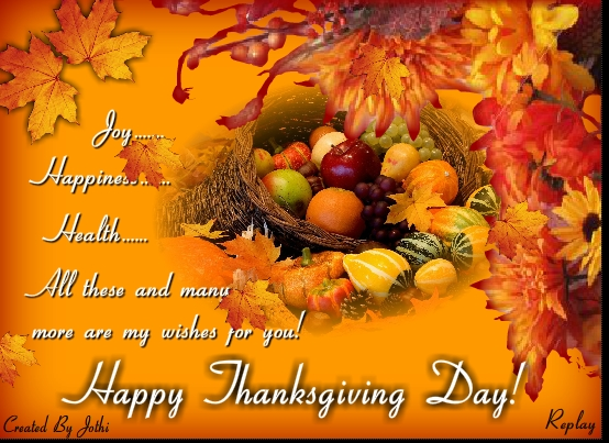 Happy Thanksgiving Day Messages Text