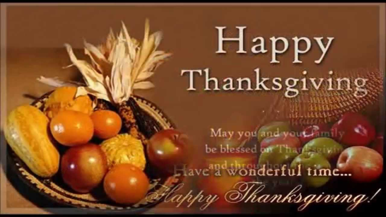 Happy Thanksgiving Greetings Messages