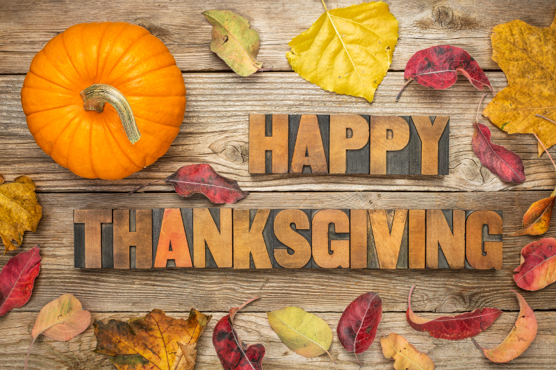 Happy Thanksgiving Greetings for Friends