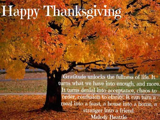 Happy Thanksgiving Pictures Messages
