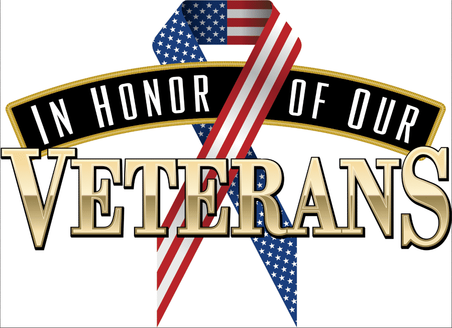 Happy Veterans Day Clipart Design