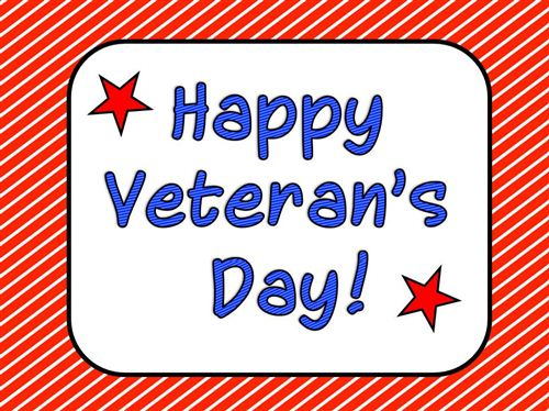Happy Veterans Day Images Greeting Wishes