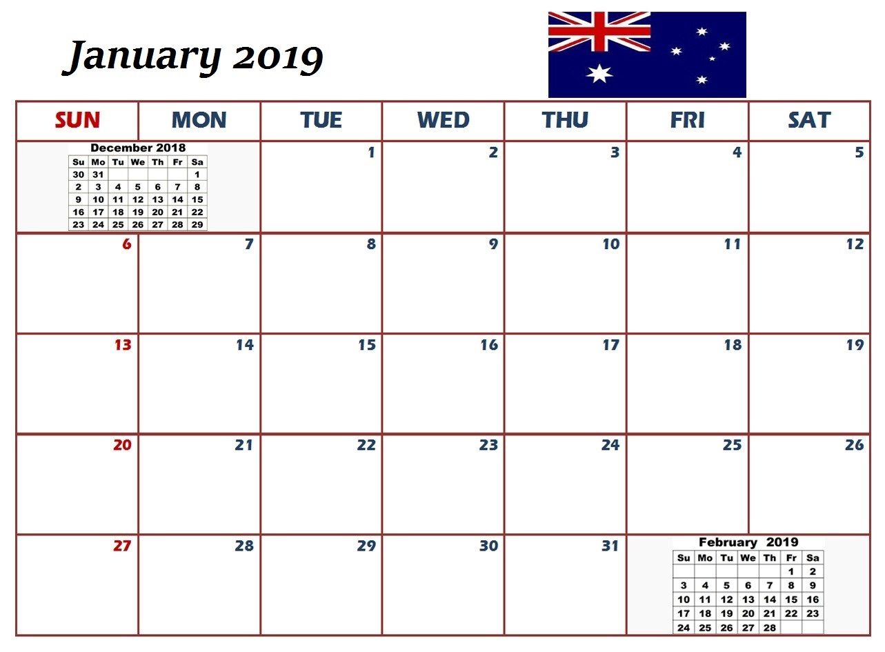 May 2018 Calendar With Holidays Australia