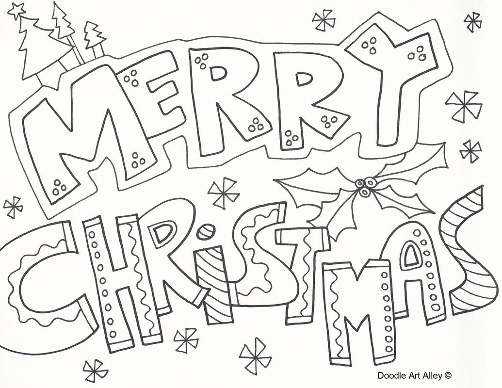 graphic relating to Free Printable Adult Christmas Coloring Pages identified as Merry Xmas Coloring Webpages Cost-free Printable for Older people