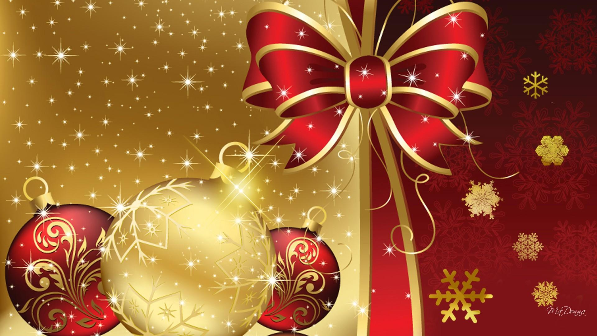 Merry Christmas Free HD Wallpaper