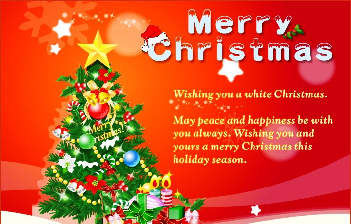 Merry Christmas Greetings PNG