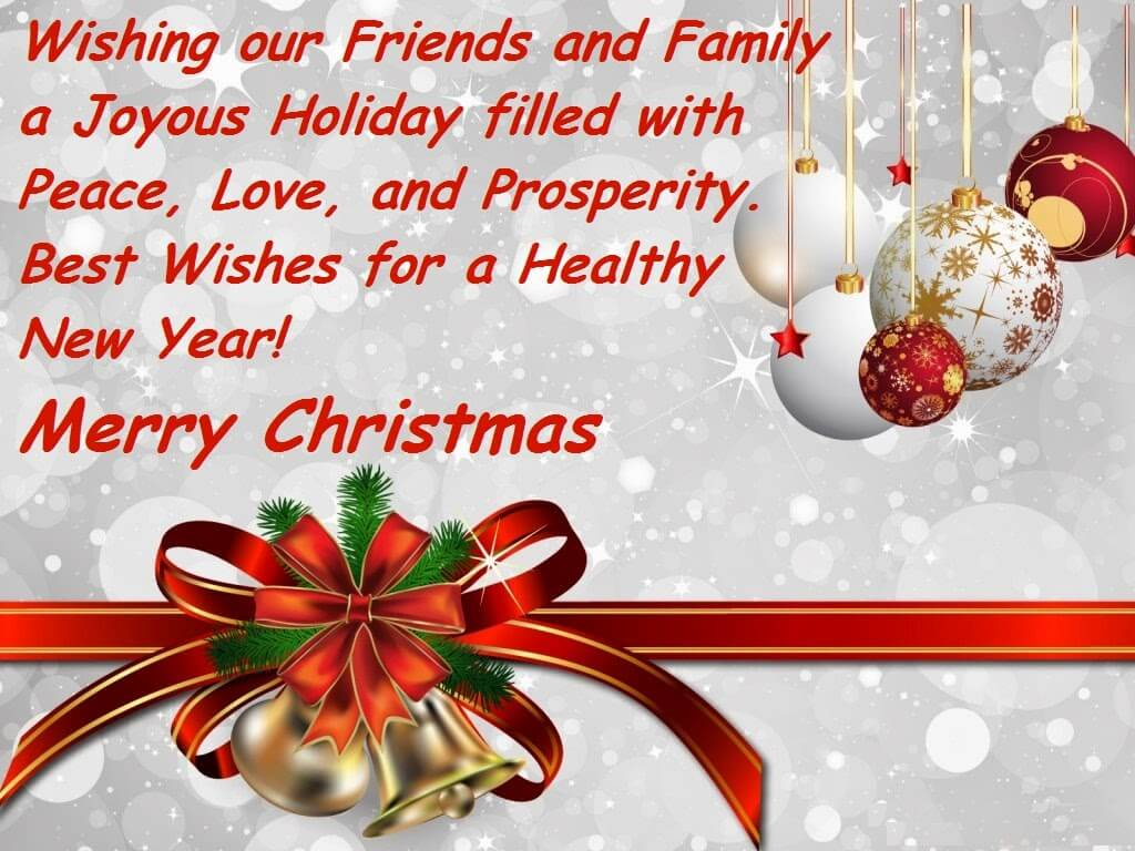 Merry Christmas 2018 Messages