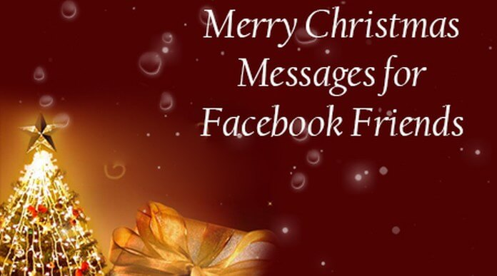 Merry Christmas Messages for Facebook