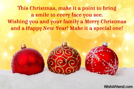 Merry Christmas Messages to Friends