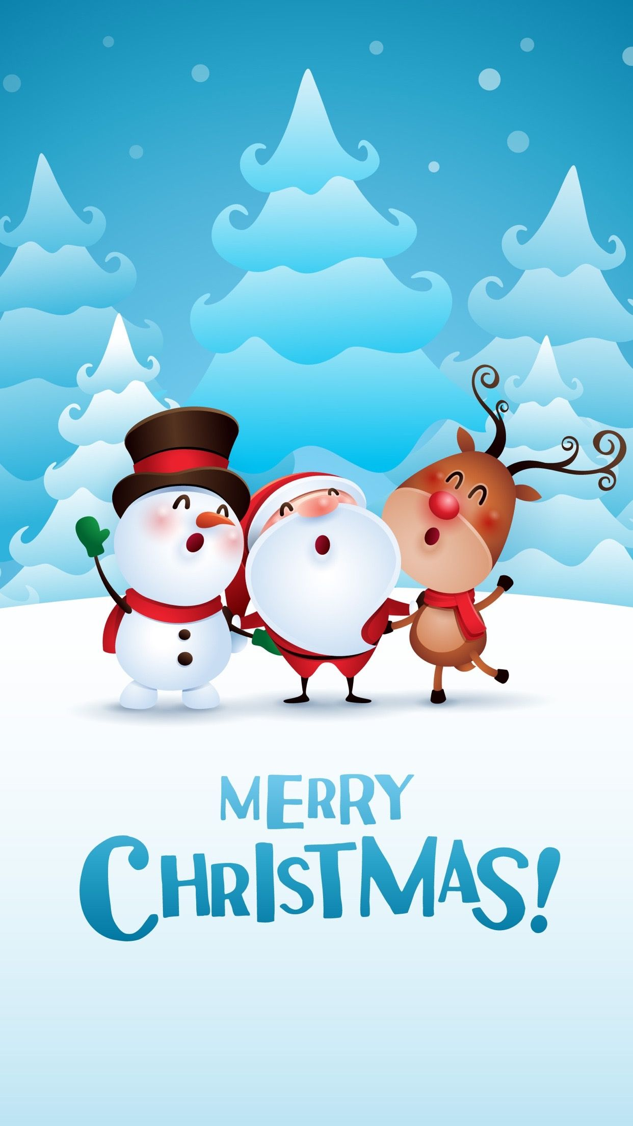 Merry Christmas Wallpapers For iPhone