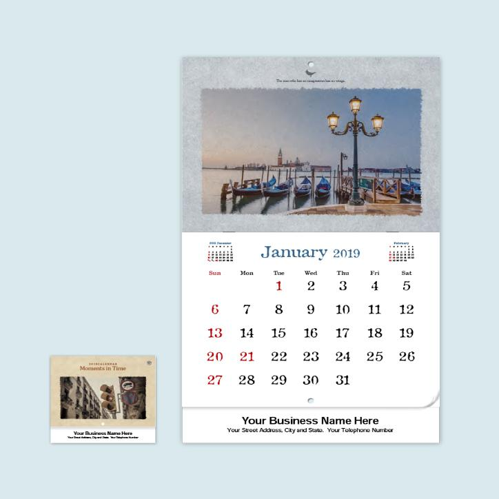 Printable January 2019 Personalized Calendar