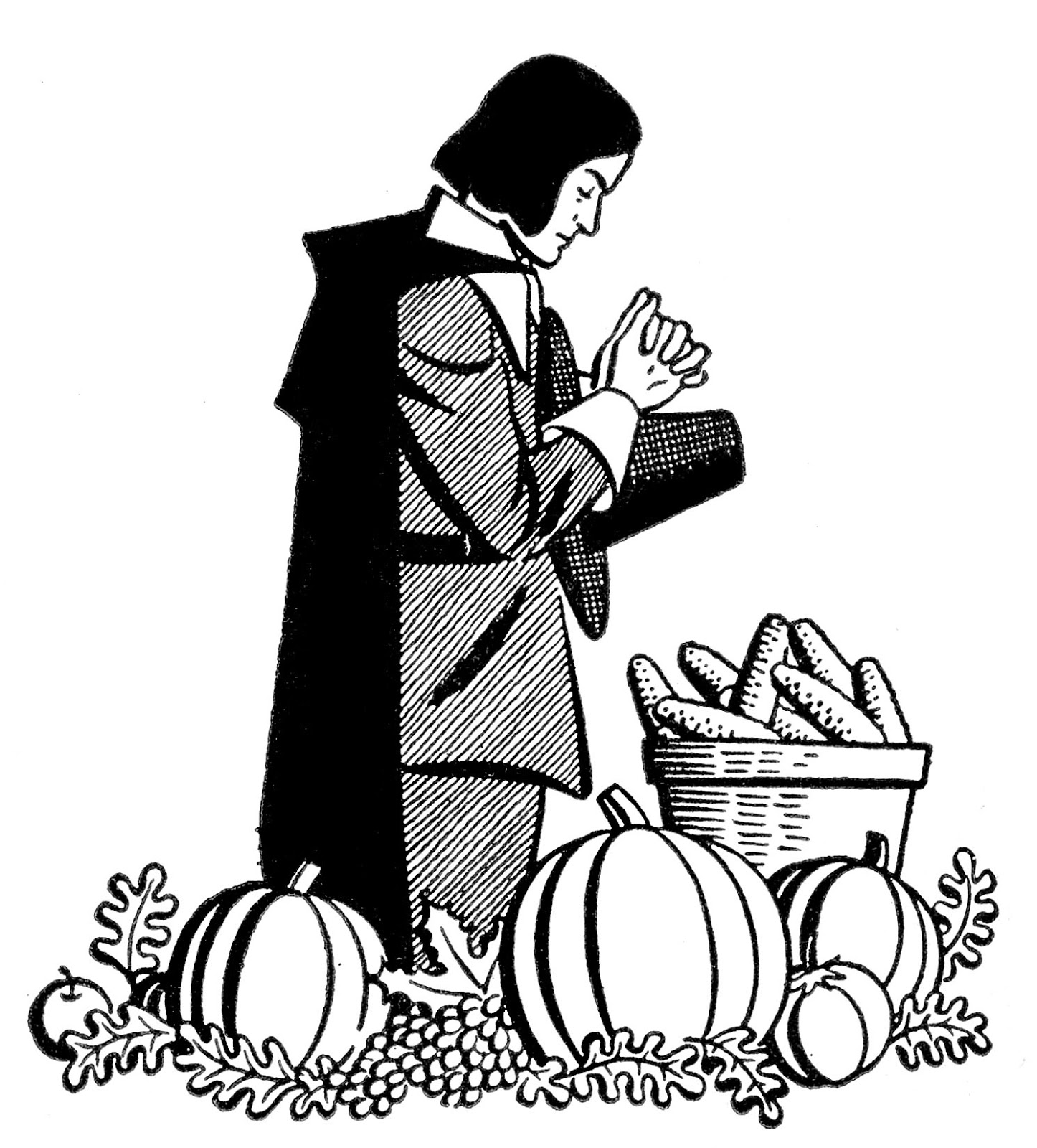 Thanksgiving Blessing Clipart Images